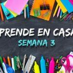 Aprende en Casa Edomex: Plan de trabajo del 13 al 17 de septiembre Foto: Especial
