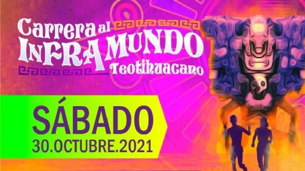 Carrera al Inframundo Teotihuacán 2021: Lo que debes saber Foto: Especial