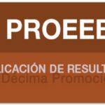 Resultados PROEEB SEIEM décima promoción 2018-2019 Foto: Especial