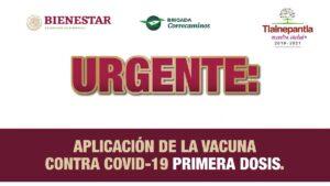 Vacuna rezagados primera dosis Tlalnepantla. Fecha, sede y documentos Foto: Especial